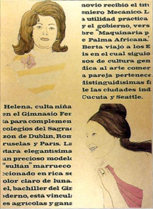 Clemencia Lucena, Sin título, tinta china y témpera sobre papel, 1970