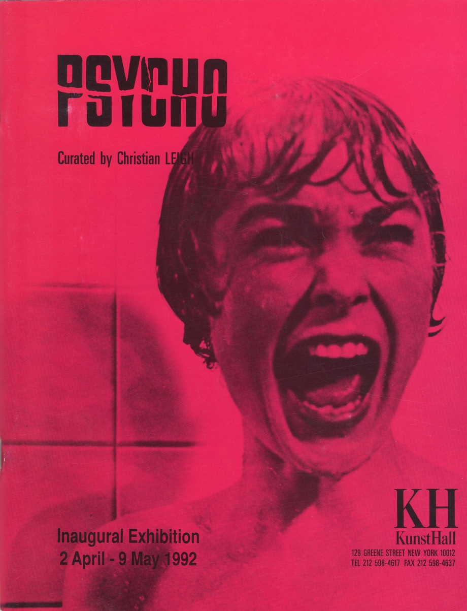 Christian Leigh, Psycho, Kunsthall, Nueva York, 1992.