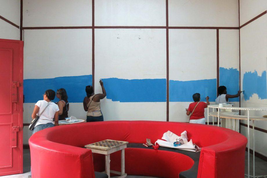 «Rasamblah horizonte», tres días de pintadera colectiva como inicio del proceso de Horizonte Rocola