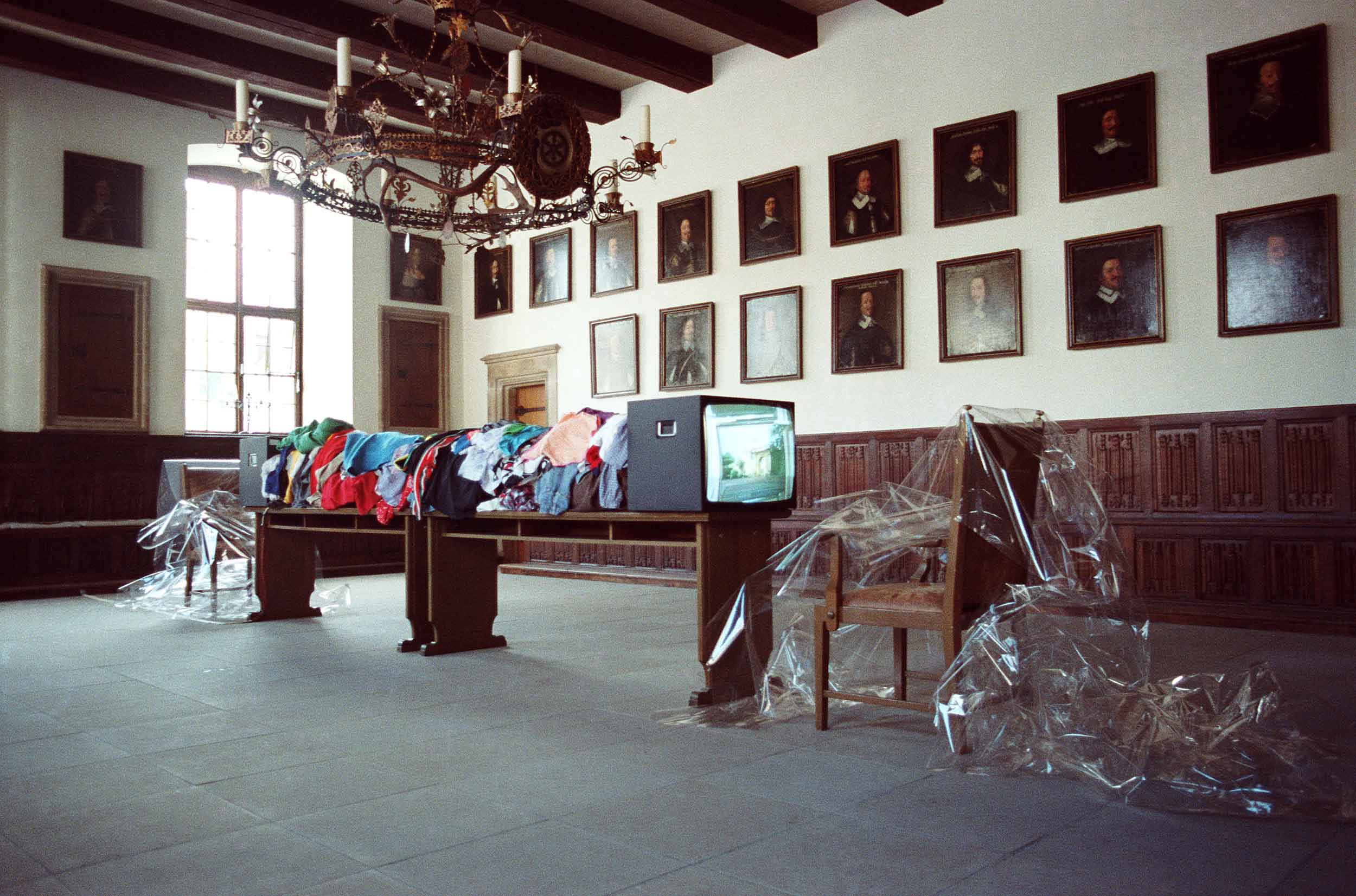 Concha Jerez, Media Arts Festival, Osnabrück, 1988