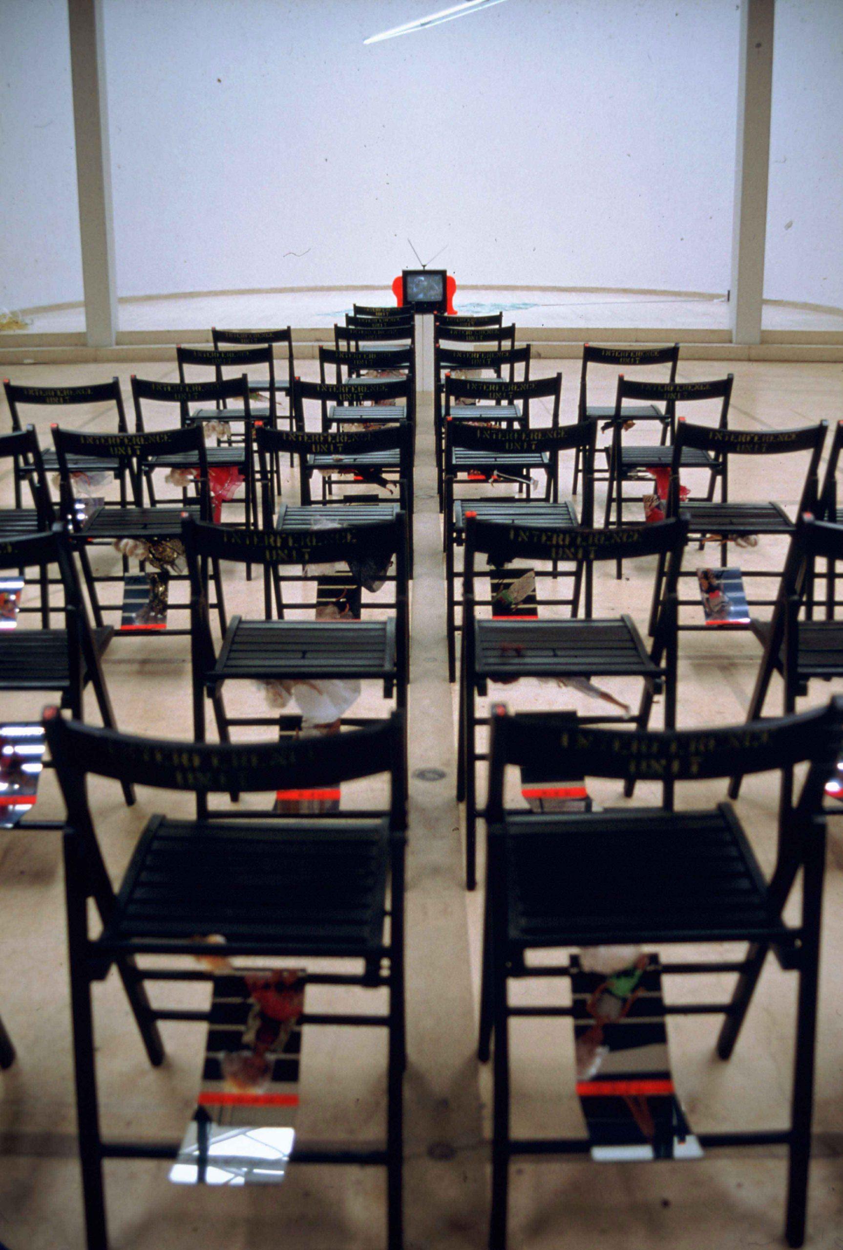 Concha Jerez, Interference Landscapes, Frag Graz, 1993